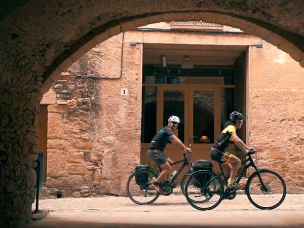 Cicloturisme Girona.Can Gich. Casa Rural. Rutes BTT