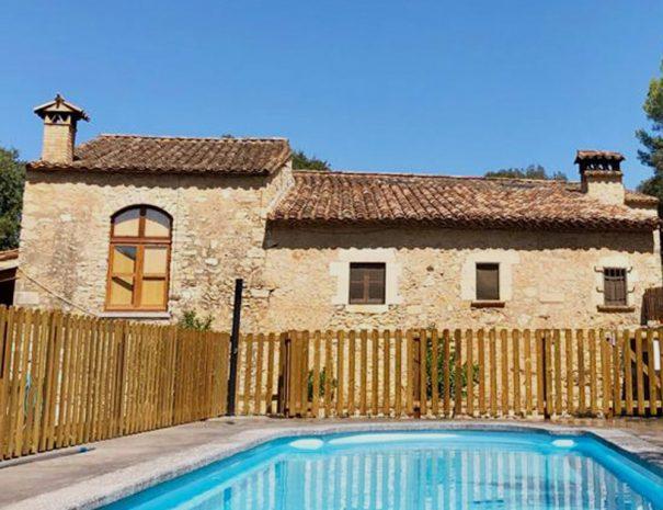 Can Gich Casa Rural con Piscina Girona Familia Naturaleza