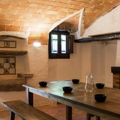 Casa Rural Cocina Girona Can Gich Familia