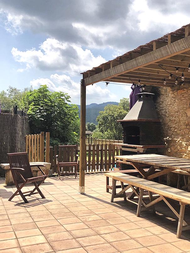 Casa Rural Girona Barbacoa Can Gich Lloguer